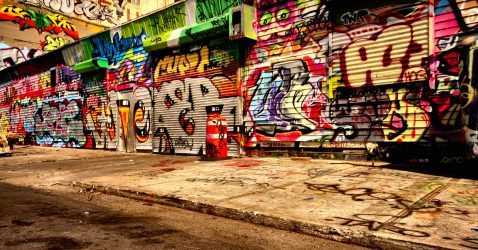Graffiti Street Wallpapers