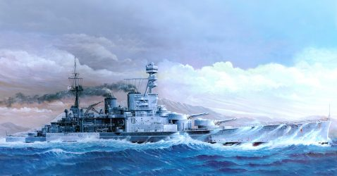 HMS Repulse 1916 Wallpapers