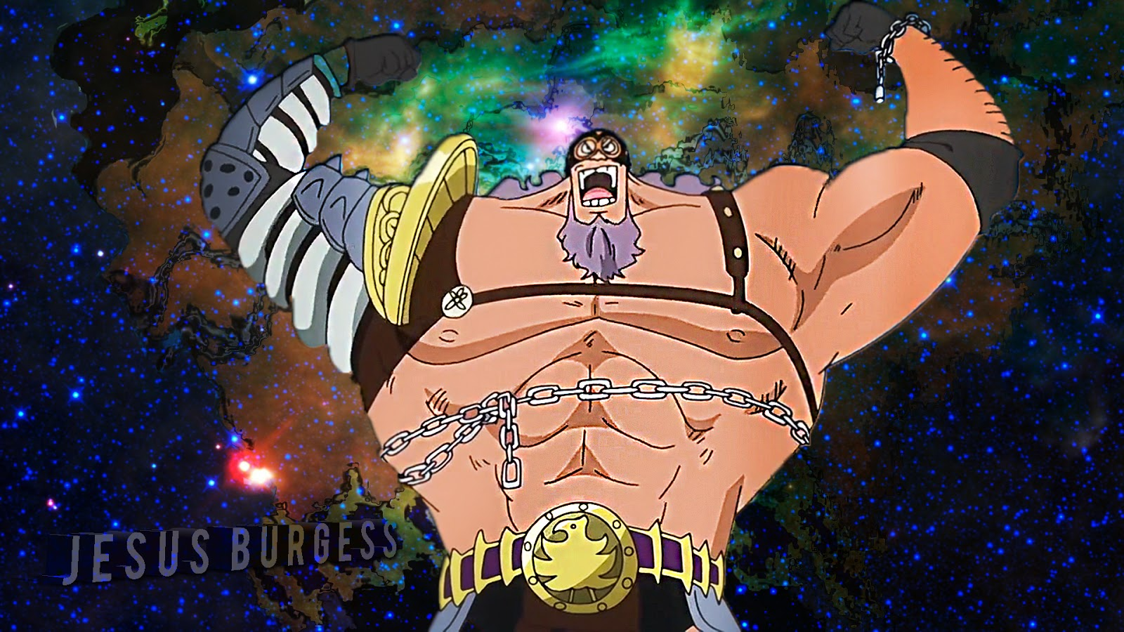 Jesus Burgess One Piece Wallpapers