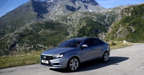 Lada Vesta Wallpapers
