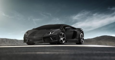 Lamborghini Aventador Black Wallpapers