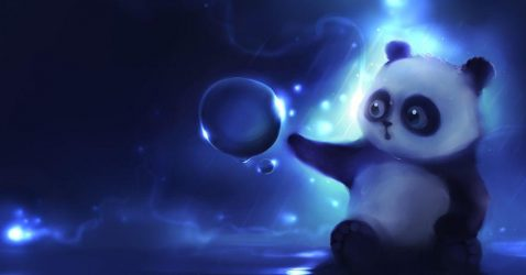 Moving Panda Wallpapers