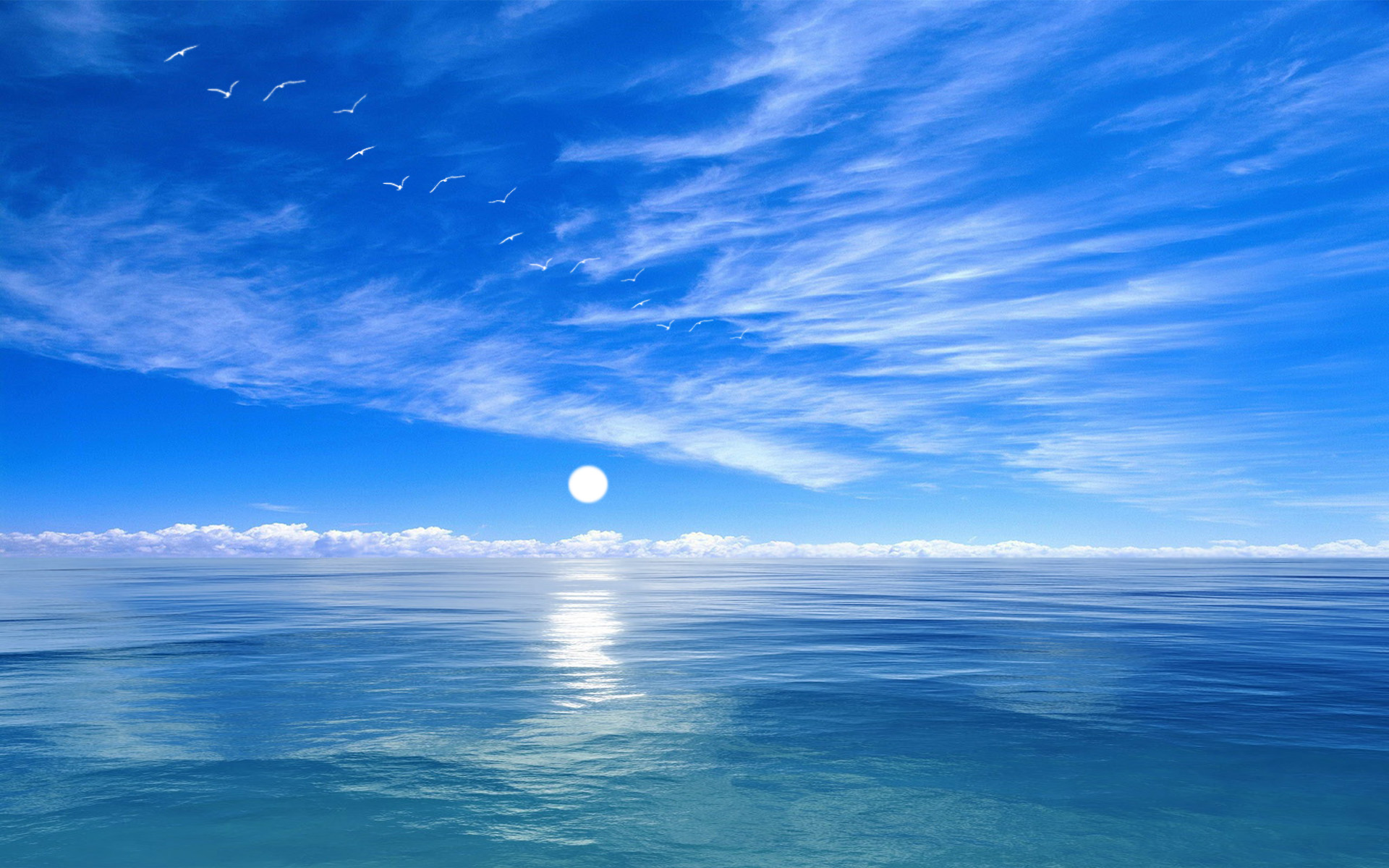 Ocean Blue Wallpapers