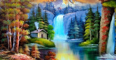 Painting Nature Wallpapers