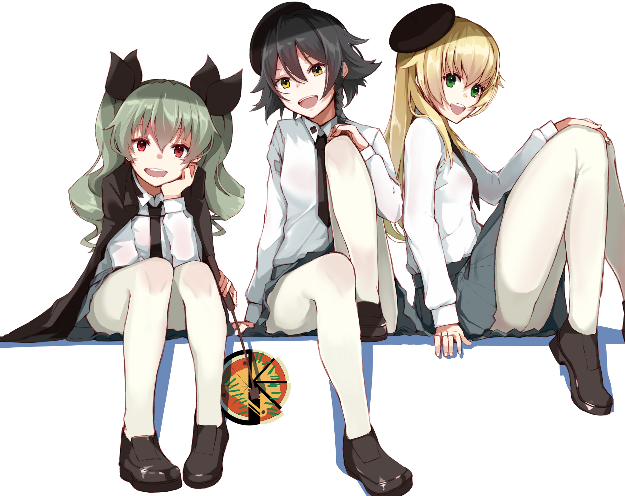 Pepperoni Girls Und Panzer Wallpapers