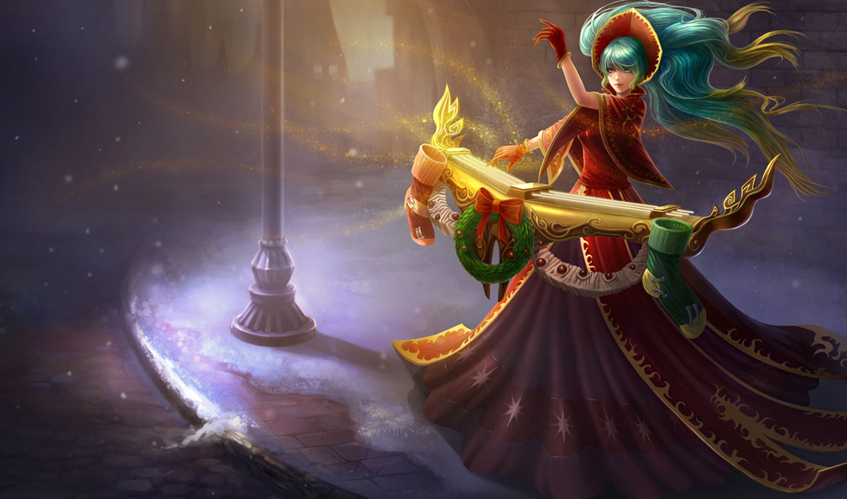 Sona League Of Legends Wallpapers