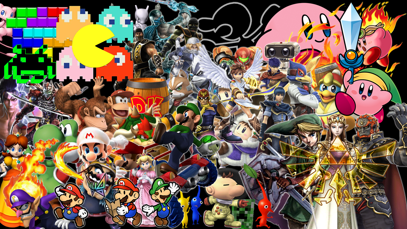 Video Games Characters Wallpapers