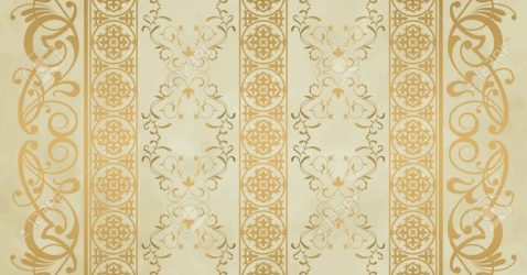 Vintage Wallpapers Gold