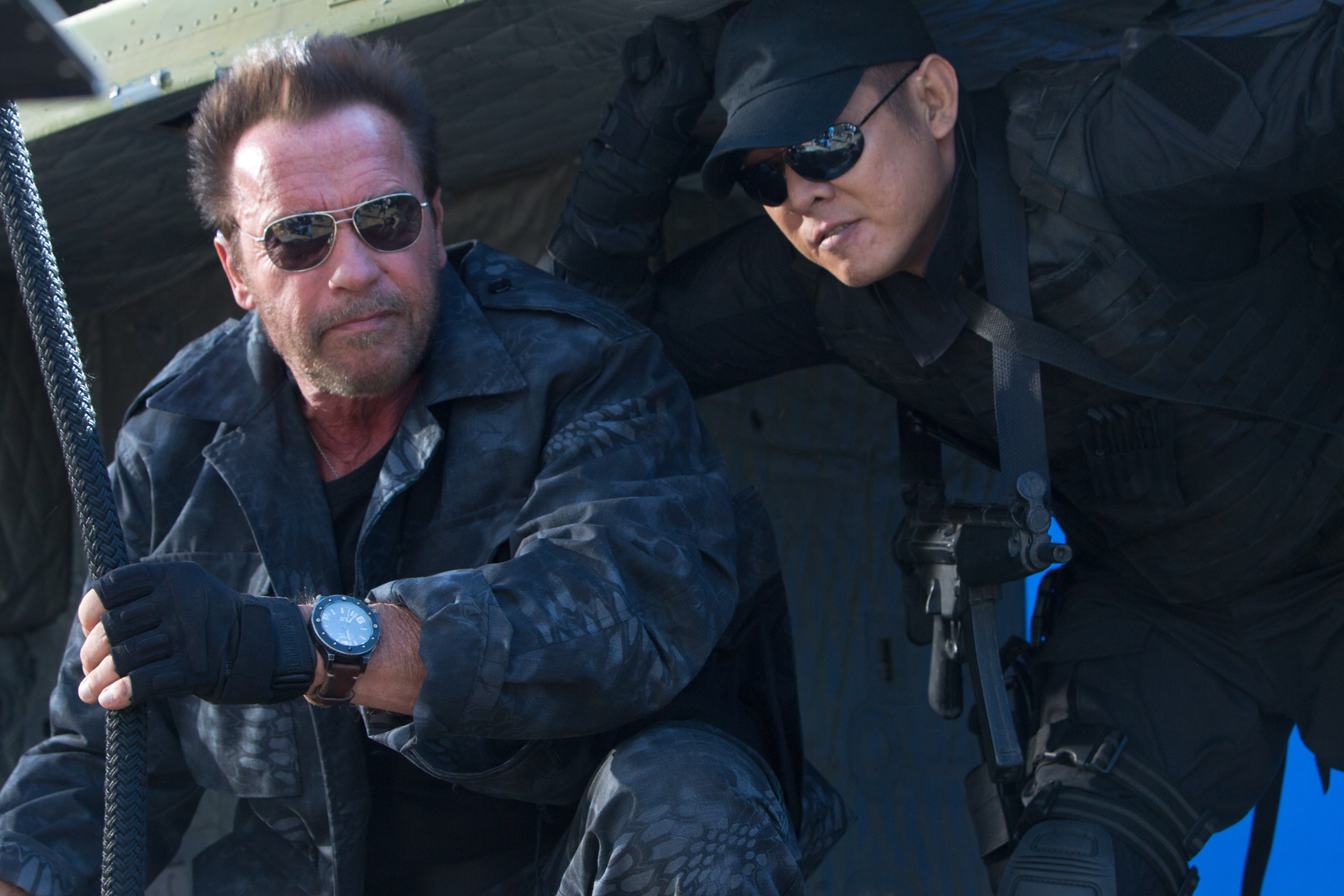 Yin Yang The Expendables Wallpapers
